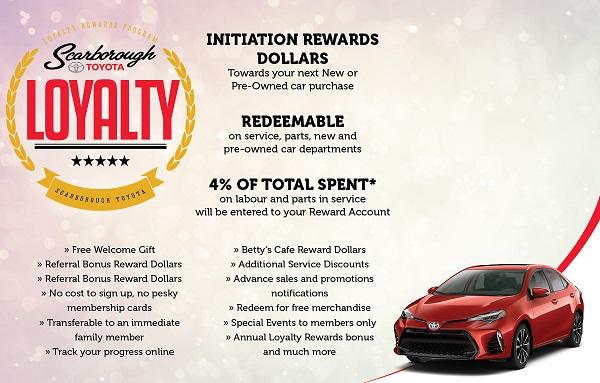 Scarborough Toyota Loyalty Program